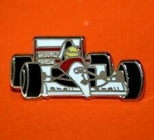 Pin's lapel pin pins  F1 FORMULA ONE FORMULE 1 MAC LAREN HONDA SENNA  Zamac  Sig