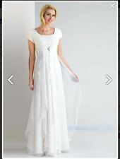 Crystal/Diamante Chiffon Empire Wedding Dresses
