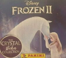 PANINI FROZEN 2 CRYSTAL COLLECTION COMPLETE SET OF140 STICKERS+ 35 TRADING CARDS