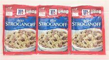McCormick Beef Stroganoff Sauce Mix 1.5 oz ( 3 Pack )
