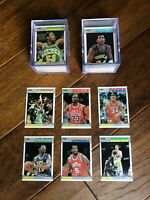 1987 Fleer Basketball Complete Set (#'s 1-132) & Stickers (#'s 1, 3-11) NM/MT