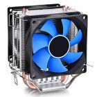 Dual 8cm Fan CPU Quiet Cooler Cooling Heatsink for Intel LGA1155 LGA775/1156 AMD