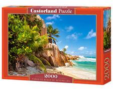 Castorland C-200665-2 - Paradise Beach Of Seychelles,Puzzle 2000 Teile - Neu