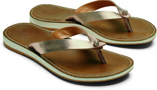 Olukai Nohie Bubbly/Tan Flip Flop Comfort Sandal Women's US sizes 5-11/NEW