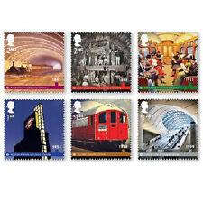 UK London Underground stamp set MNH 2013