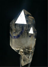 AAA + + naturally has three large water foam Enhydro quartz crystal specimens 1A