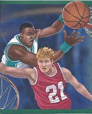 Close Up Shots of a Basketball Game Sports Wallpaper Border CT102232