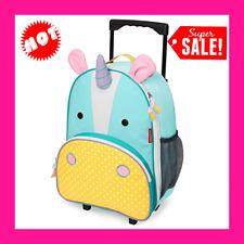 Kids Luggage with Wheels, Unicorn