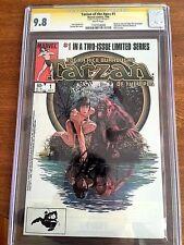 Tarzan of the Apes #1 July 1984, Marvel CGC 9.8 NM/M SIGNATURE SERIES Stan Lee