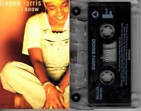 Dionne Farris I Know 1994 Cassette Tape Single Pop Dance Rock