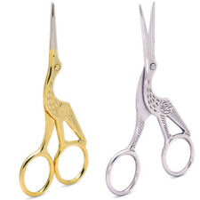 Vintage DIY Fine Shape Gold Tailor Sewing Embroidery Stainless Steel Scissors