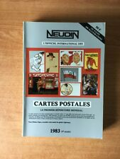 L'OFFICIEL INTERNATIONAL DES CARTES POSTALES 1983 le premier annuaire m