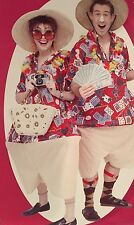 Tacky Tourist 'Vegas Adventure' Gamblers Fat Costume For 1 Person-Nwt