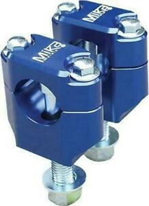 "Mika Metals 7/8"" Universal Bar Mounts (Blue) BLUE MK-BU-78"