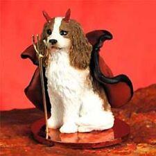 Cavalier King Charles Spaniel Blenheim Devil Dog Tiny One Figurine Statue