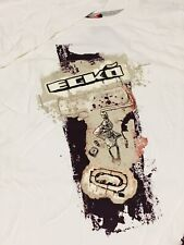 "ECKO UNLTD. L/S ""Roller"" Tee sz XL XLarge Mens Graphic T-Shirt White OOP NEW NWT"