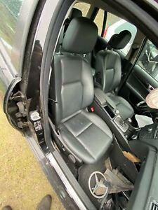 Mercedes S204 T-Model W204 Kombi Leder sitze Rücksitzbank 2009 BJ