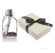1st First Paper Wedding Anniversary Personalised Message in a Bottle Gift