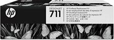 HP711 (C1Q10A) Black/Cyan/Magenta/Yellow Printhead Replacement Kit 5054629604519