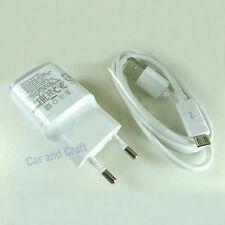 Genuine LG EU Travel Charger Adapter G4 G3 G2 Nexus 5 G Pro 2+USB Cable Original