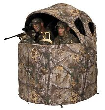New Ameristep Deluxe Two Person Tent Chair Hunting Blind