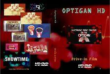 OPTIGAN HD Drive-in INTERMISSION film trailer DVD COLOR Organ 35mm 16mm