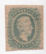 Confederate States Csa 12 Mint Light Hinge Original Gum Nice Clean Example