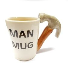 MAN HAMMER MUG FOR BUILDERS BUILDER NOVELTY GIFT SECRET SANTA TEA COFFEE DIY