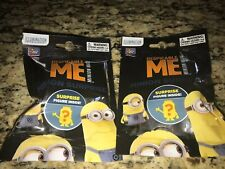 2 Pack Despicable Me Minions Surprise Blind Bags Mystery Mini Figure Sealed