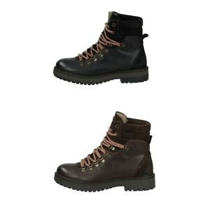 Camel Active Stone D-Rings Damen Stiefel | Boots | Booties | Leder - NEU
