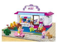 New Friends Café Play House Shop C/W Figures Compatible Building Bricks 226 pcs