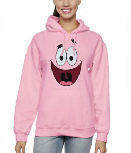 Spongebob Patrick Star Face Adult Hoodie