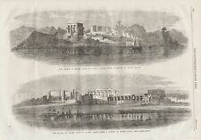 1862 ROYAL VISIT TO EGYPT PRINCE OF WALES LUXOR PHILAE