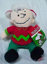 "Hallmark Peanuts Gang Nice Musical Charlie Brown 9"" Plush Stuffed Animal Toy"