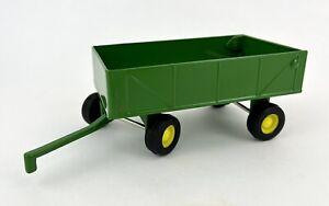 ERTL Green John Deere 1/16 Barge Wagon Trailer Farm Tractor Toy Metal - EUC!