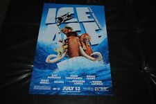 Ice Age 4 Continental Drift Movie Premiere Poster Manny Sid Diego Scrat Double