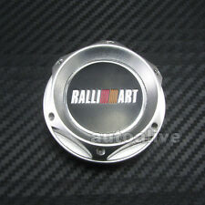 Silver Billet Engine Oil Fuel Filler Cap Cover for Mitsubishi Ralliart JDM