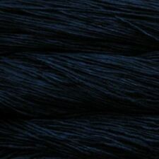 Malabrigo Silky Merino DK Knitting  Yarn Wool 50g - Black (195)