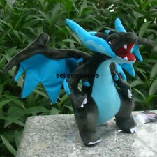 Center Shiny Mega Charizard Dragon Plush Toy Stuffed Animal Soft Doll 9""