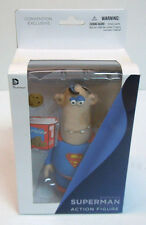 Superman Classic Action Figure Aardman Convention Exclusive New in Box DC Comics