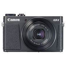 Canon PowerShot G9X Mark II 20.1MP Digital Camera 3x Optical Zoom Black Full-HD