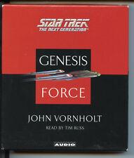 ST Genesis Force audio book John Vornholt EX
