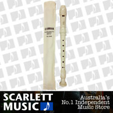 Yamaha YRS-24B Descant C Recorder w/ Carry Bag + Notes *BRAND NEW*