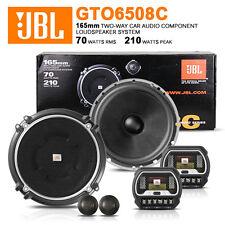 "2013 JBL Gto6508c 6-1/4 Inch 6.5"" 17cm 2 Way Compontent Car Splits Speaker"