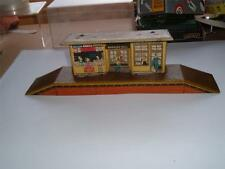 WELLS ? BRIMTOY ? O GAUGE SMALL STATION WELL USED VINTAGE GO DOWN 4 THE PHOTOS
