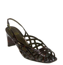 $295 STUART WEITZMAN Tangle ~ NEW Cognac Tortoise 6.5 N