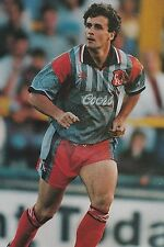 Football Photo>MARK HUGHES Chelsea 1994-95