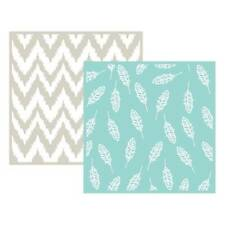 WE R LIFESTYLE CRAFTS QUICKUTZ  FEATHER (6X6)  EMBOSSING FOLDERS    03712-5