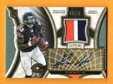 KEVIN WHITE 2015 TOPPS SUPREME AUTOGRAPH PATCH AUTO ROOKIE RC SP # / 10 BEARS