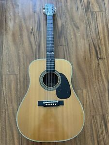 1975 Alvarez Acoustic Guitar Model 5022, Made In Japan EXCELLENT Used Condition